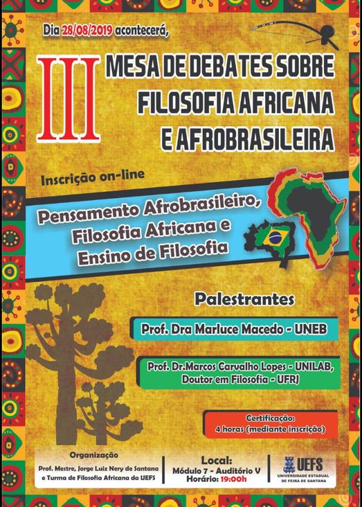 III mesa FiloAfricana