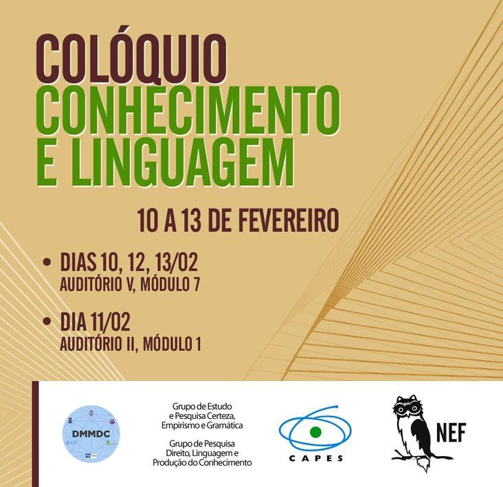 Colóquio Conhecimento e Linguagem